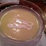 ステーキ 二教 - 「特製」コーンスープ