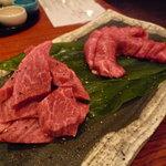 なか田 - ☆フィレ肉200g&塩タンの2種盛り(≧▽≦)/~☆