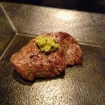なか田 - ☆フィレ肉はやっぱり山葵のせ(#^.^#)☆