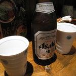 まるららーめん - ビール400円(旧価格)