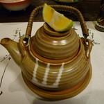 一木一草 - (椀物)【松茸の土瓶蒸し】