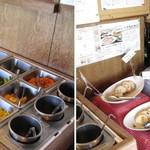 ポモドーロ - 多治見市ポモドーロ ランチのサラダバーはサラダ・スープ・スライスパン・雑穀米等が食べ放題。 2013.11.24撮影