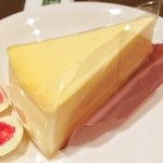 タリーズコーヒー - ニューヨークチーズケーキ。