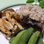 いち川 - 焼物:カマスの蕎麦の実焼き