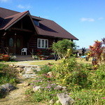 ログ喫茶・ペンションいずみが森 - 大きなログハウスで出来たカフェ&ペンション