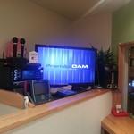 いわま餃子 - 本格最新カラオケPremierDAM設置!!いつでも歌い放題です。