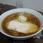 嘉瀬のラーメン家 - 醤油ラーメン680円