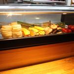 串タイム - 大きく切った野菜♪