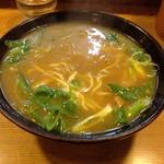 讃岐うどん 一心 - カレーうどん細麺700円