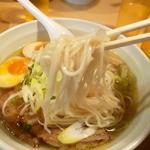らーめん 孫子 - ストレート麺2013.11.30