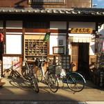 門前茶屋おもろ庵 - 自転車が似合う外観です!