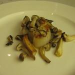 グリル アンドウ - 雪コース キノコと帆立貝柱 味噌バター