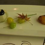 グリル アンドウ - 雪、花コース 焼き野菜