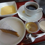 桃杏樓 - マンゴープリン、愛玉ゼリー、紅茶プリン、シフォンケーキ、コーヒー