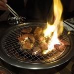 立ち焼きカルビ - ふぁいや~!ホルモン H25.4