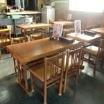 おおぎ家 - テーブル