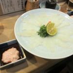 富久鮨 - カワハギ 肝醤油