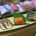 富久鮨 - 関鯵 中とろ しめ鯖