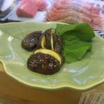 富久鮨 - 椎茸のバター焼き