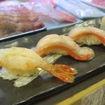 富久鮨 - ボタン海老 金目鯛