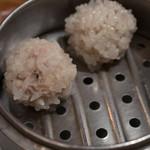 美人粥 - もち米焼売