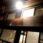 うてな喫茶店 - 奥ゆかしい店名プレート。中崎町メイン通り(2013.11)