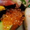 おけさ寿司 - 料理写真:特上握り(¥3000)イクラ