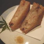 ちえ蔵 - 【エビパン揚】 是非一度食べて頂きたいエビパン揚!カレー粉に付けて食べるのがまた美味い!