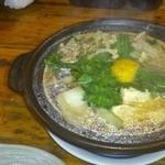 北栄亭 - 料理写真:かも鍋