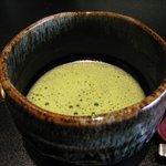 鉄板焼 天 本丸 - お抹茶