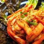 22820454 - 紅ずわい蟹のサラダ