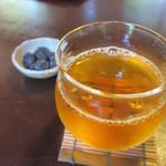 茶寮 宝泉 - 2013.6 ほうじ茶と黒豆
