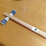 22823185 - 箸と箸置き