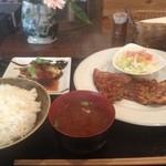 洋食や シェ・ノブ - 日替わりランチ・生姜焼き
