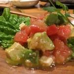 じゃんか - アボガドとトマトのサラダ 580円