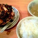 22828650 - 四川麻婆豆腐定食(790円)