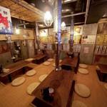 日本焼肉党 - 地下に堀ごたつ席あります