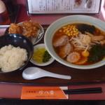 珍八香 - 料理写真:辛口スタミナセット 1050円