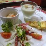 スペインバル ミ・カーサ - 前菜4種盛