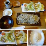 22831258 - おろし天ざるそば。そば勝縁(長野県下伊那郡阿智村)食彩賓館撮影