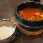セント - キムチチゲ&ご飯