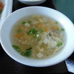 台湾食堂 - 玉子スープ