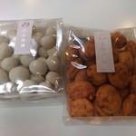 豆吉本舗 - ホワイトチョコ豆、明太子さん