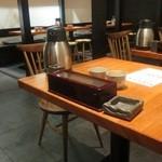 ぐあん - テーブル