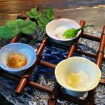 恵久保 - 料理写真:山野想のコース 4200円