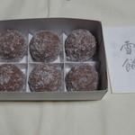 赤福茶屋 - 雪餅