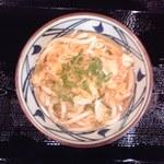 丸亀製麺 秋田広面店 - かけうどん(並):280円(税込)【2013年11月撮影】