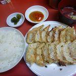 22842786 - 焼餃子定食 600円