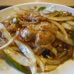 生香楼 - 豚生姜焼アップ