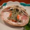 Taishuukappouyoshijin - 料理写真:セイコ蟹の内子のアップ